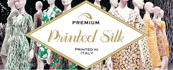 printed silk fabric charmeuse