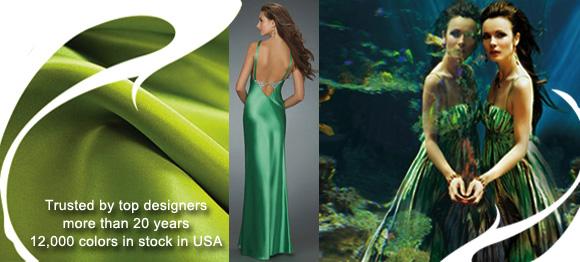 silk fabric in USA