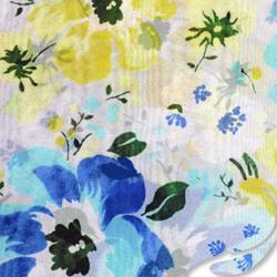 7aba7ee8b71b0 printed silk chiffon fabric, Floral print, EZ-45001-1168-2
