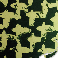 Printed Silk Charmeuse Fabric, Geometric Print, EZ-21001-1125-1