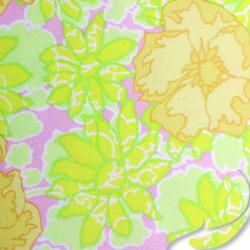 Printed Silk Charmeuse Fabric, Floral Print, EZ-21001-1137