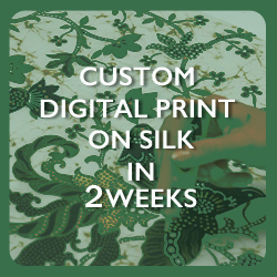 Custom Design Printing on Silk Fabric