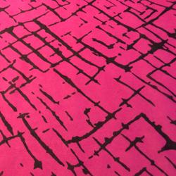 "Printed Silk Chiffon, Origanum 5 Print, 8mm, 45"""